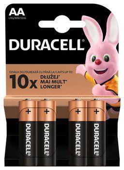 Bateria Duracell LR6 / AA / (K4) Basic op 4szt