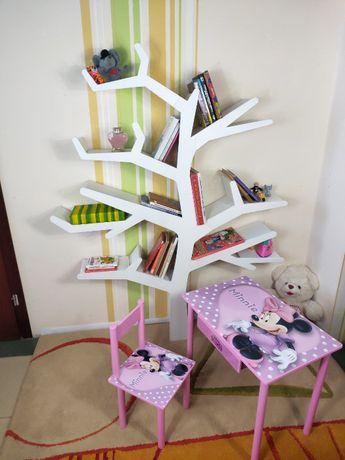 """Полка - стеллаж """"Дерево"""" для книг и игрушек для детской или гостиной"""