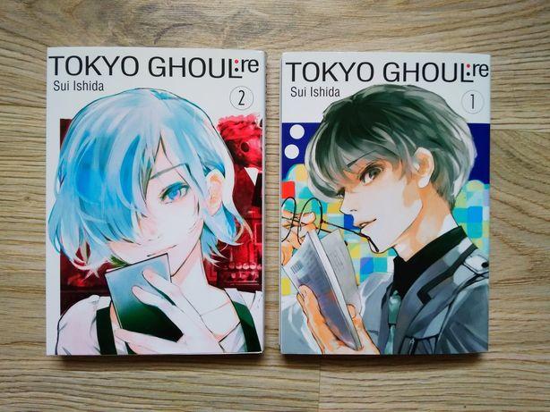 Manga Tokyo Ghoul:re tom 1, 2