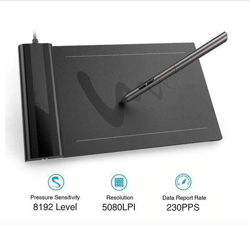Графический планшет для рисования VEIKK S640 ретушь xp-pen wacom huion