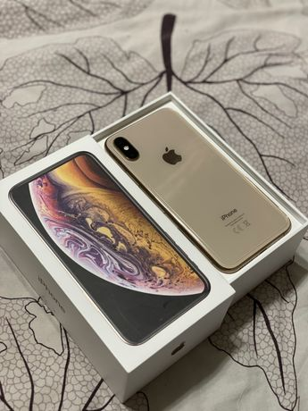 iPhone Xs Gold 256 гб