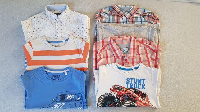 Zestaw 104 koszulki koszula t-shirt bluzka bluzki Next H&M c&a