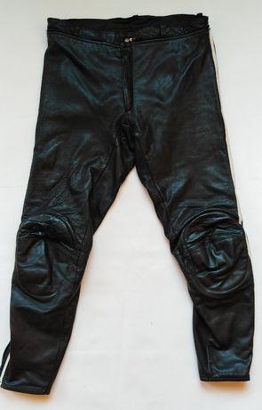 Spodnie męskie skórzane rozmiar L