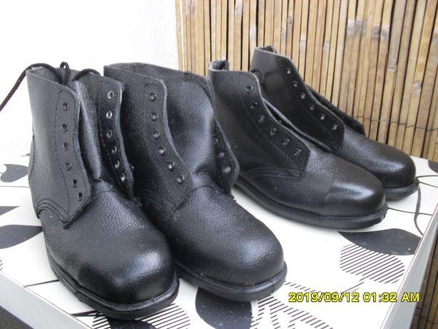 Buty skórzane rozm.41 nowe angielskie dwie pary olejo i ciepło odporne