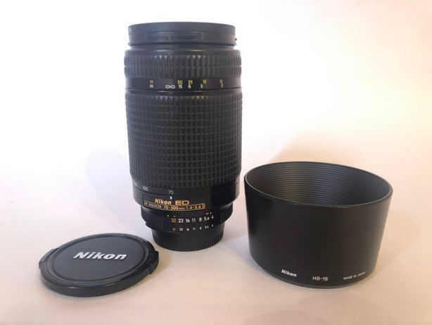 Телеобектив Nikon ED AF NIKKOR 70-300 мм made in JAPAN