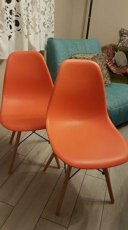2 krzesła nowoczesne - 90 zł (cena za 2 szt)