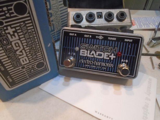 Electro Harmonix Switch Blade switcher przełącznik line selector boss