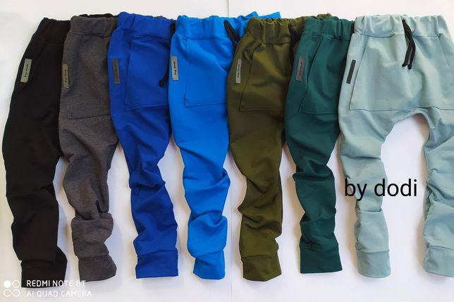 Spodnie dresowe baggy r 68-134