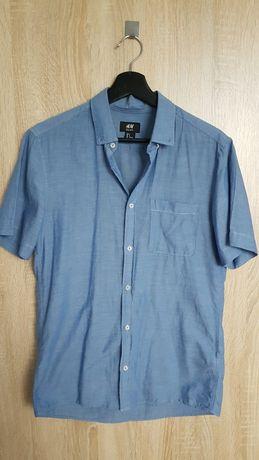 H&M Koszula męska krótki rękaw
