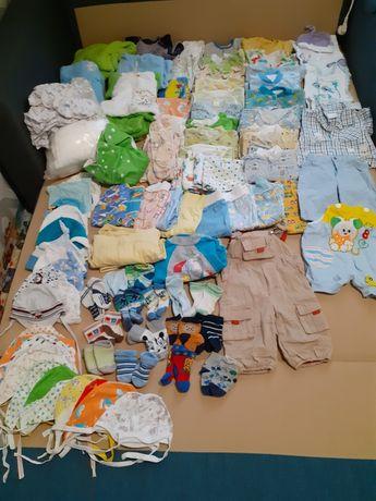 Много вещей для ребёнка от 0 до 6 месяцев