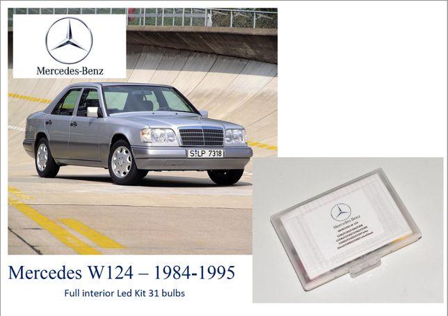 Kit Completo 29 leds Mercedes W124 W201 190