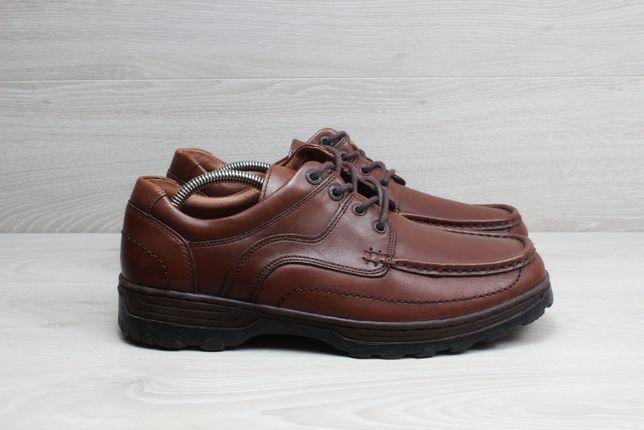 Кожаные мужские туфли / полуботинки Clarks оригинал, размер 44
