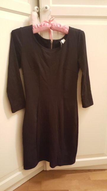 mała czarna sukienka/mini H&M roz S