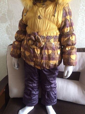 Зимний костюм польской фирмы Bilemi, б/у, 110 размер
