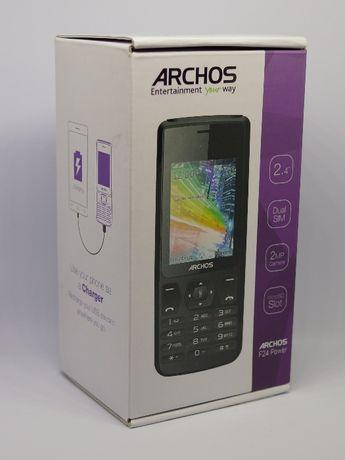 Telefon Archos f24 Power Bank Dual Sim Latarka Bateria 4000mAh microSD