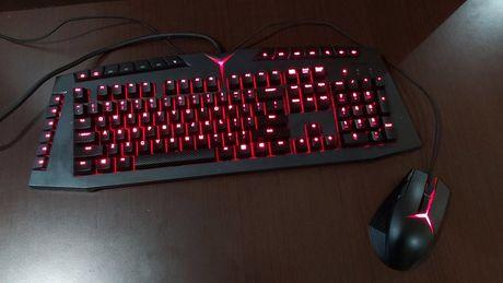 Klawiatura Lenovo Y Gaming mechanical switch + mysz