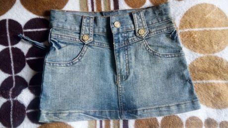 Юбка джинсовая детская.