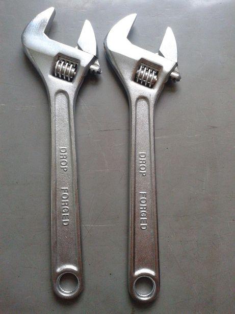 nowy klucz nastawny typu zabka 10 cali 250mm 0-30mm tania wysylka