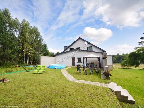 Domek 6os. weekend święta wakacje jezioro nocleg Świeszyno