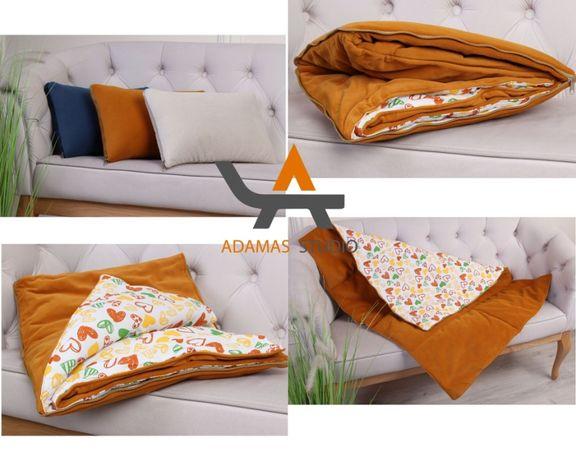 Подушка-одеяло 2в1 ( В машину, на природу, для дома)