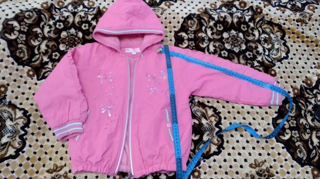 Куртка детская на девочку. Осенняя- весенняя, рост 98-110.