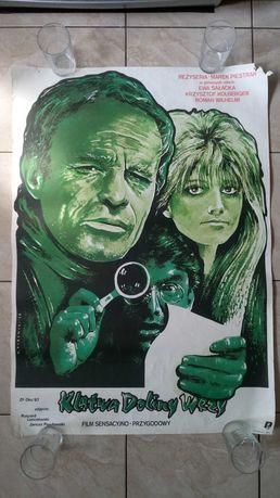 Klątwa Doliny Węży plakat filmowy