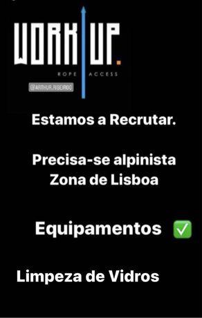 Alpinista para obras em Lisboa