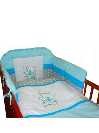 Komplet pościeli dziecięcej 3w1 łóżeczko 70x140