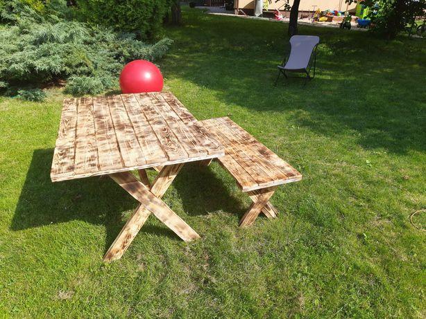 Stół ogrodowy meble ogrodowe ławka-rezerwacja