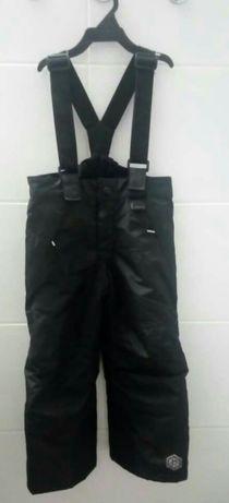 Spodnie ocieplane r.98/104
