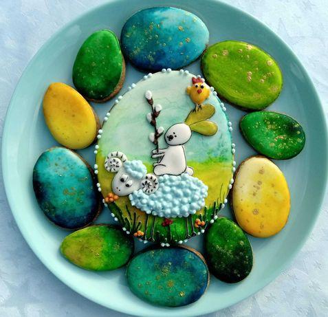 Pierniczki Wielkanoc Zajac Prezent dla Dziecka