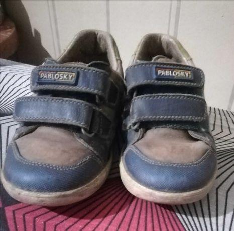 Продам кроссовки Pablosky на мальчика, 25 размер