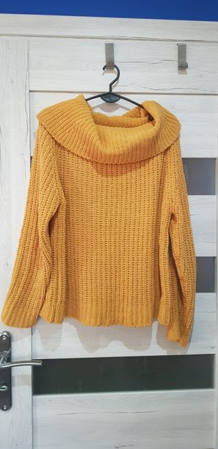 Sweter damski M kolor musztardowy