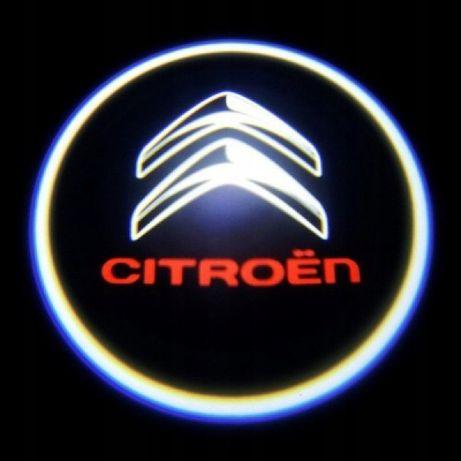 Citroen Hologramy LOGO x2
