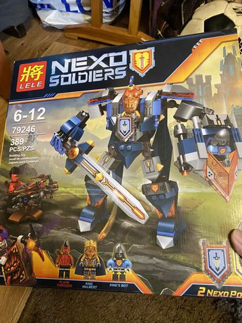 Конструктор аналог Nexo Knights