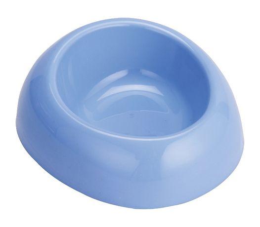 Miska plast. owalna Happet 0.8l niebieska