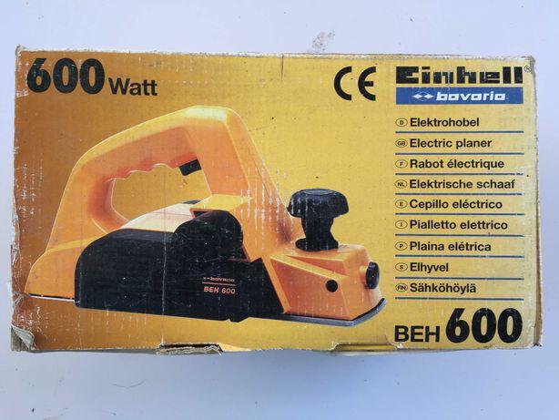 Plaina Eléctrica Einhell - Modelo Bavaria BEH 600