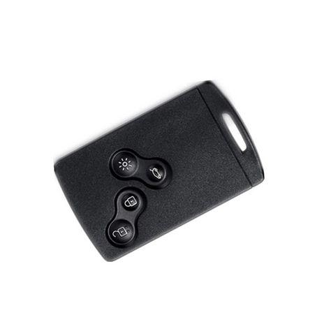 Capa silicone borracha chave cartão Clio Megane 3
