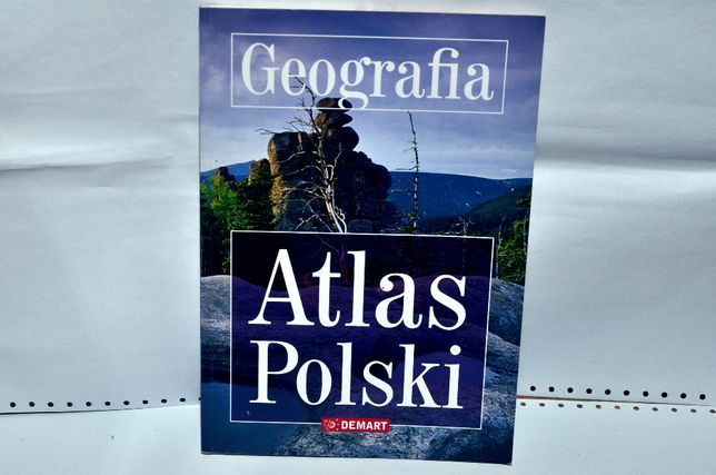 geografia; atlas Polski