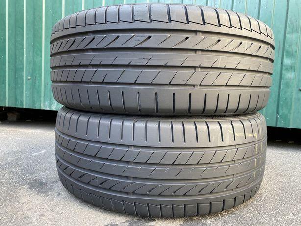 Шины летние б/у 215/45/R18 Dunlop SP SportMaxx