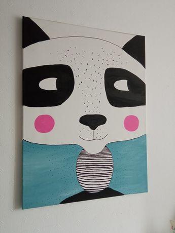 Obraz 80x60 panda