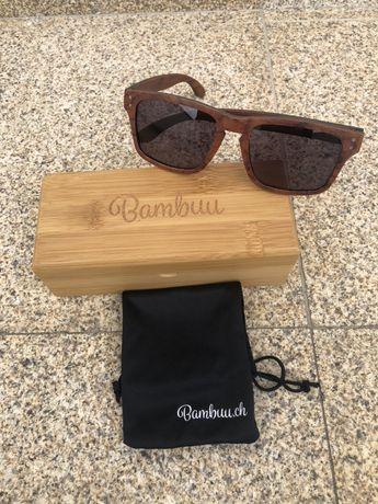 Óculos bambuu