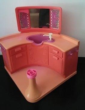 Salão de beleza - barbie - vintage
