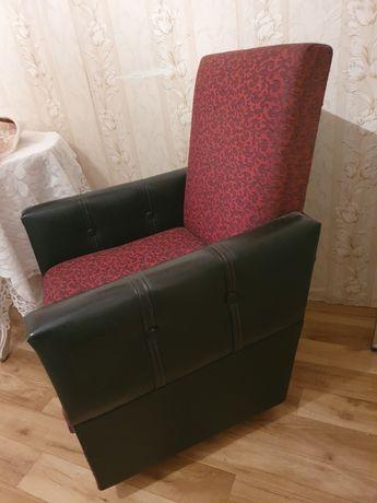 Pilne! Fotel retro PRL na kółkach