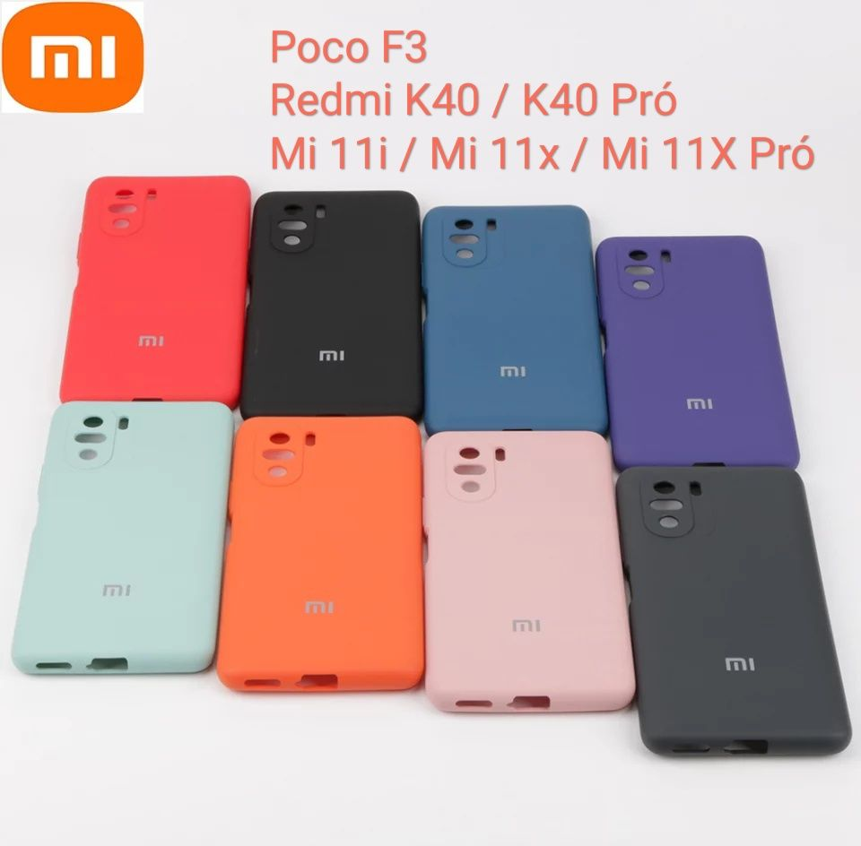 Capa Soft Xiaomi Poco F3 / Redmi K40 / K40 Pró /Mi 11i/Mi 11x /11x Pró