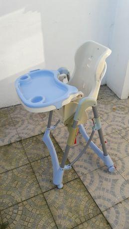 Cadeira de comer de bebe