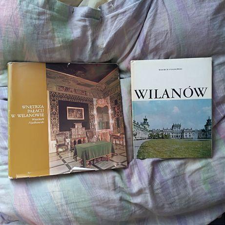 ksiazki pałac w Wilanowie i Wilanów