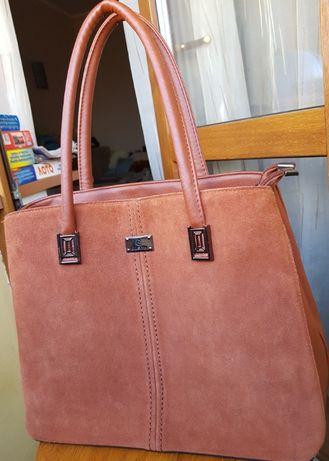 Стильная кожаная сумка sofiya