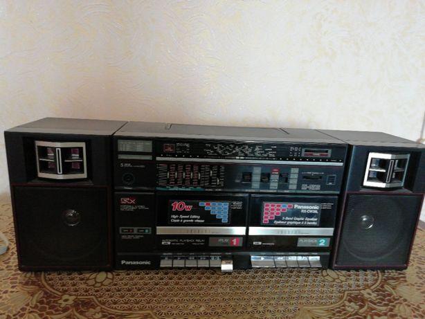 Магнитофон PANASONIC RX CW26L оригинал, двухкассетный