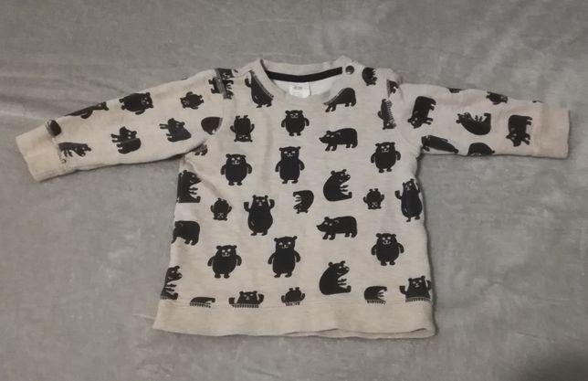 Bluza chłopięca niemowlęca H&M na 74 cm